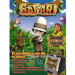 SAFARI Game board PCB